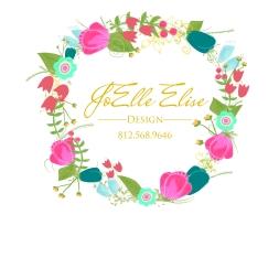 floral wreath Logo For Shirt