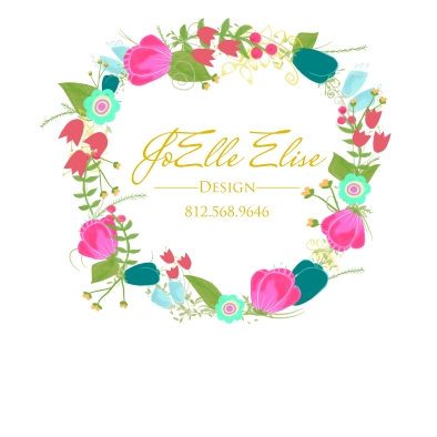 floral wreath Logo For Shirt