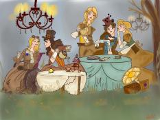 My5Girls Tea Party