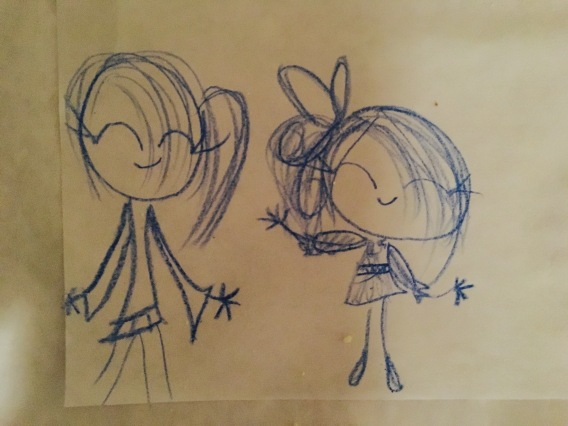 Drawings by the girls