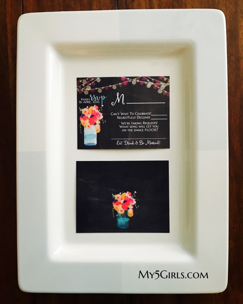 Hand-drawn Colorful Floral Jar Suite RSVP