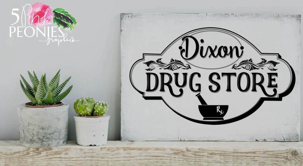 Dixon Drug Store 5pp logo