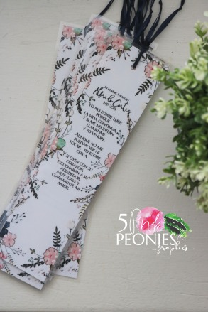 pink bookmark photo